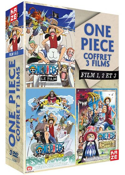 One Piece - Le Film 1, 2 et 3 - DVD