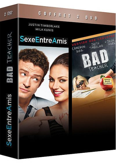 Coffret Justin Timberlake - Sexe entre amis + Bad Teacher (Pack) - DVD
