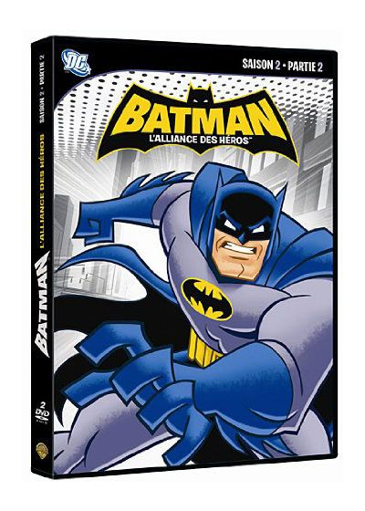 Batman : L'alliance des héros - Saison 2 - Partie 2 - DVD