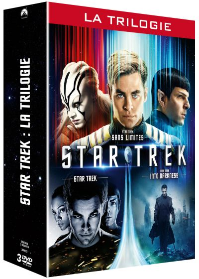 Star Trek : La trilogie - Star Trek + Star Trek Into Darkness + Star Trek Sans limites - DVD