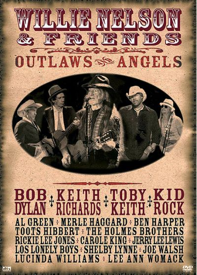 Nelson, Willie - And Friends - Outlaws & Angels - DVD