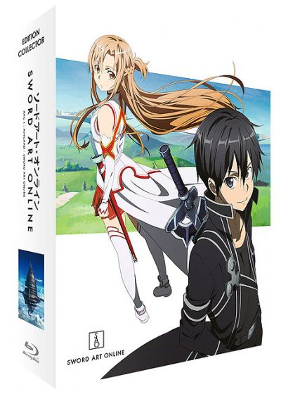 Sword Art Online - Saison 1, Arc 1 (SAO) (Édition Collector Blu-ray + DVD) - Blu-ray