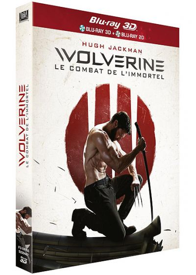 Wolverine : Le combat de l'immortel (Combo Blu-ray 3D + Blu-ray 2D) - Blu-ray 3D