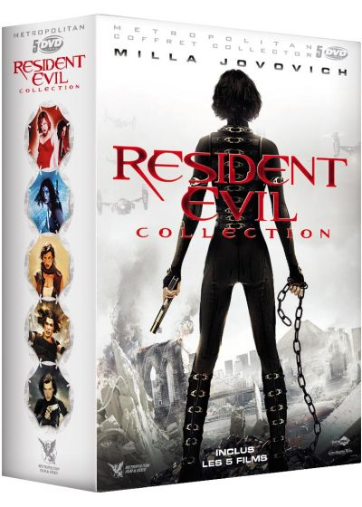 Resident Evil Collection (Coffret 5 films) - DVD