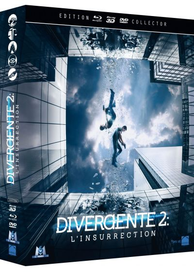 Divergente 2 : L'insurrection (Combo Collector Blu-ray 3D + Blu-ray + DVD) - Blu-ray 3D
