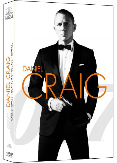 James Bond 007 - Daniel Craig : La Trilogie : Casino Royale + Quantum of Solace + Skyfall (Pack) - DVD