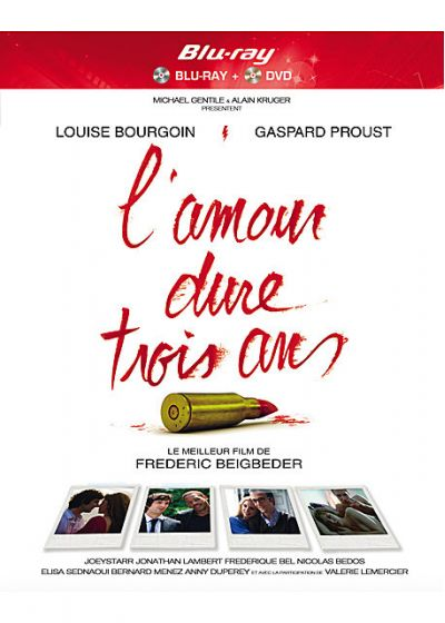 L'Amour dure trois ans (Combo Blu-ray + DVD) - Blu-ray