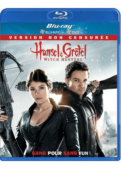 Hansel & Gretel : Witch Hunters (Combo Blu-ray + DVD - Version non censurée) - Blu-ray