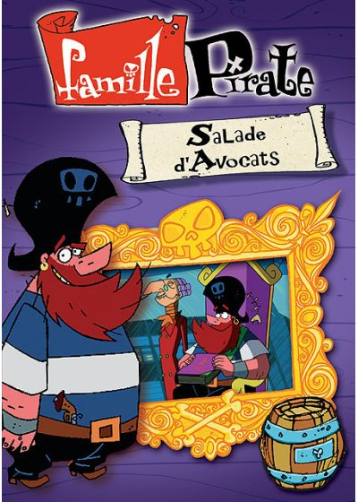 Famille Pirate - Salade d'avocats - DVD