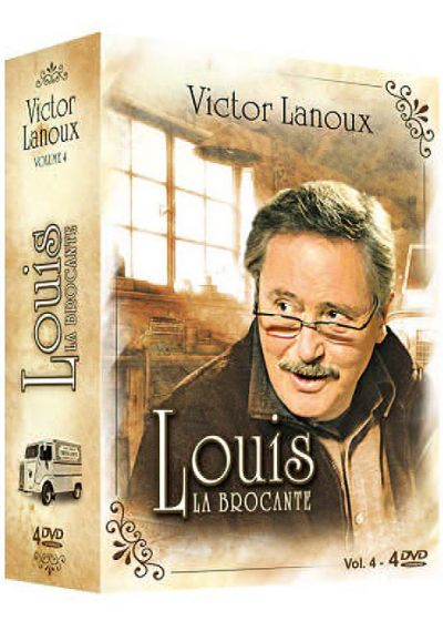 Louis la brocante - Coffret 4 (Pack) - DVD