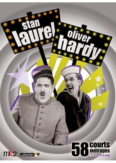 Stan Laurel & Oliver Hardy - 58 courts métrages - DVD