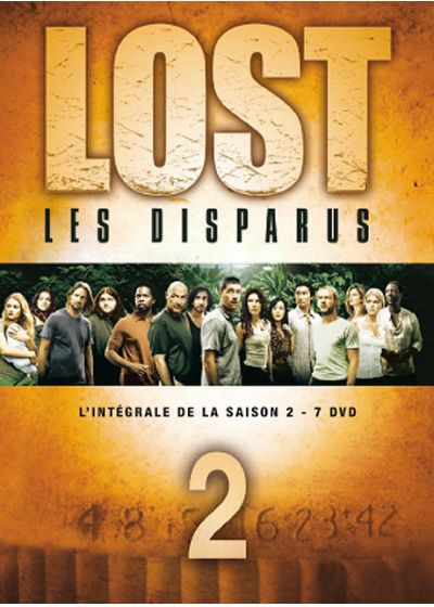 Lost, les disparus - Saison 2 - DVD