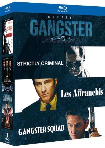 Coffret gangster : Strictly Criminal + Les affranchis + Gangster Squad (Pack) - Blu-ray