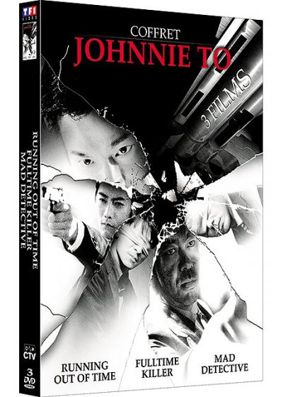 Johnnie To - Coffret - Fulltime Killer + Running Out Of Time + Mad Detective - DVD