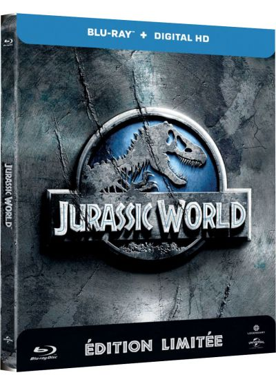 Jurassic World (Blu-ray + Copie digitale - Édition boîtier SteelBook) - Blu-ray