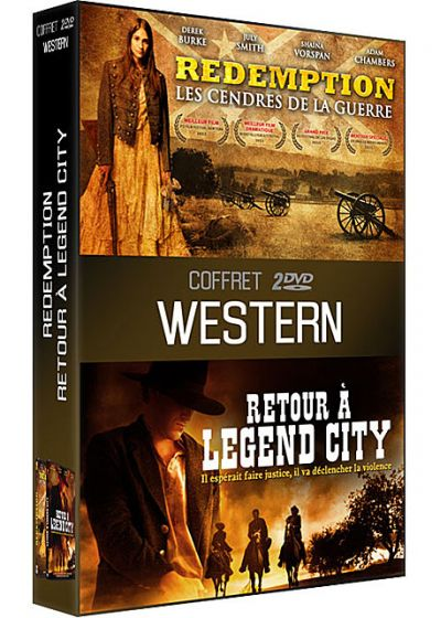 Coffret Western : Redemption - Les cendres de la guerre + Retour à Legend City (Pack) - DVD