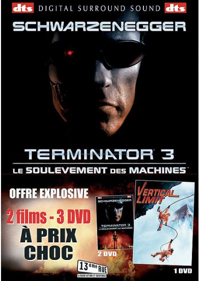 Terminator 3 - Le soulèvement des machines + Vertical Limit (Pack) - DVD