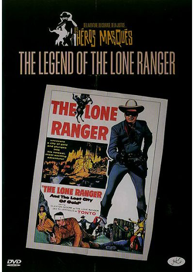 The Legend of Lone Ranger - DVD