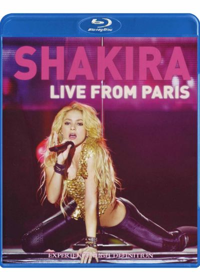 Shakira : Live from Paris - Blu-ray