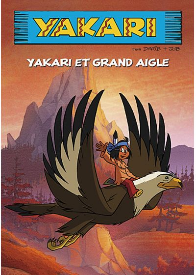 Yakari : Yakari et Grand Aigle (Édition Simple) - DVD
