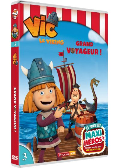 Vic le Viking - Vol. 3 - Grand voyageur ! - DVD