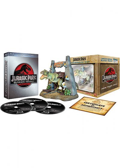Jurassic Park Trilogie (Édition Ultime Collector Limitée - Blu-ray + Copie digitale) - Blu-ray