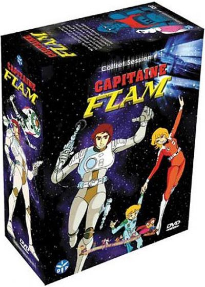 Capitaine Flam - Intégrale (Pack) - DVD