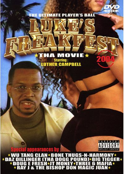 Luke's Freakfest 2004 - Tha Movie - DVD