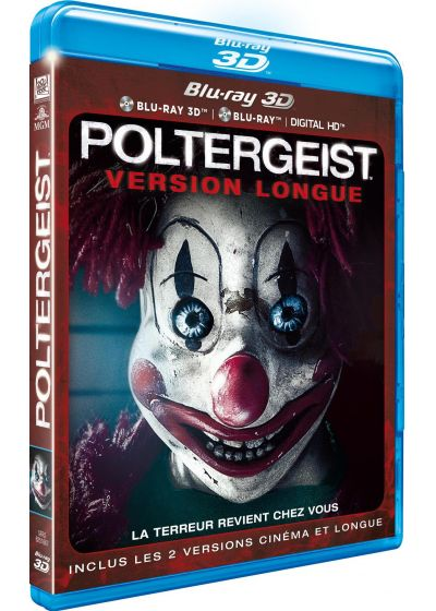 Poltergeist (Version longue - Combo Blu-ray 3D + Blu-ray 2D + Digital HD) - Blu-ray 3D