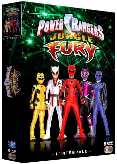 Power Rangers Jungle Fury : L'intégrale - DVD