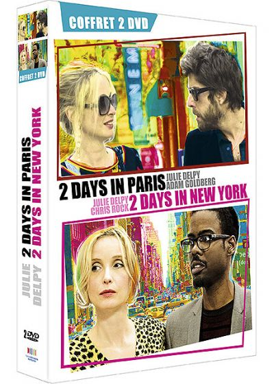 2 Days in Paris + 2 Days in New York (Pack) - DVD