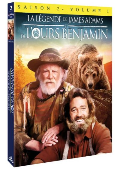 La Légende de James Adams et de l'ours Benjamin - Saison 2 - Vol. 1 - DVD