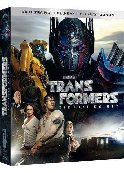 Transformers : The Last Knight (4K Ultra HD + Blu-ray + Blu-ray Bonus) - 4K UHD