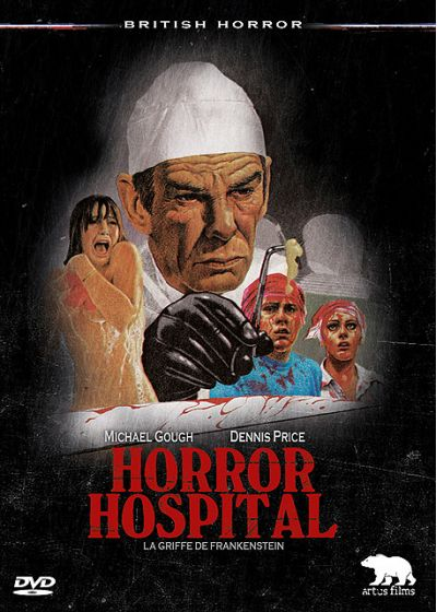 Horror Hospital - La griffe de Frankenstein - DVD