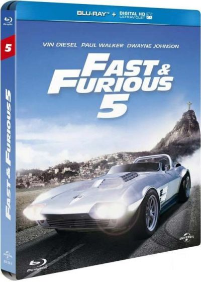 Fast & Furious 5 (Blu-ray + Copie digitale) - Blu-ray