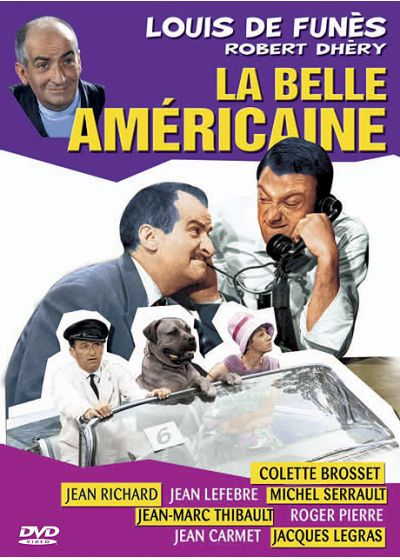 La Belle Américaine (Édition Simple) - DVD