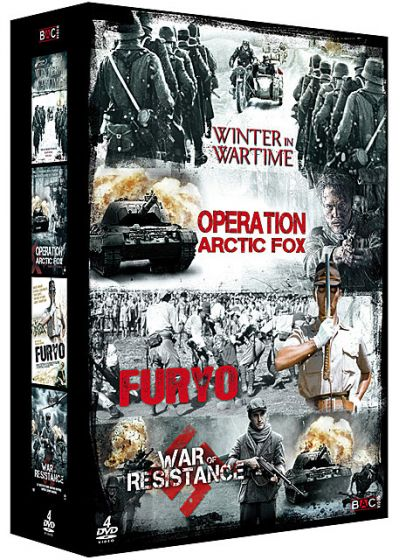 Guerre : Winter in Wartime + Opération Arctic Fox + Furyo + War of Resistance (Pack) - DVD