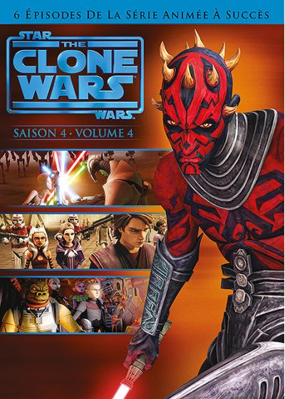Star Wars - The Clone Wars - Saison 4 - Volume 4 - DVD