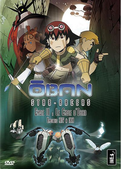 Oban Star-Racers - Cycle II : Le Cycle d'Oban - Épisodes XIV à XIX - DVD