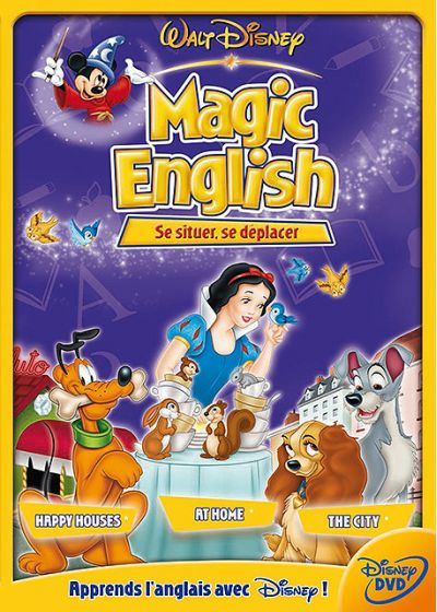 Magic English - Se situer, se déplacer - DVD
