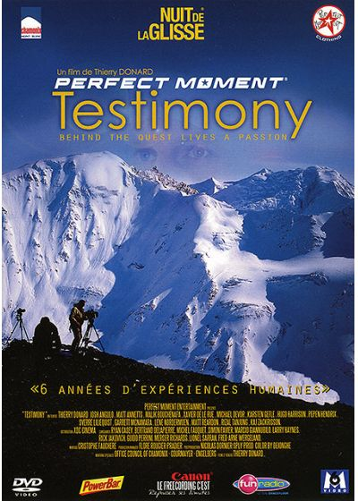 Nuit de la glisse - Perfect Moment : Testimony - DVD
