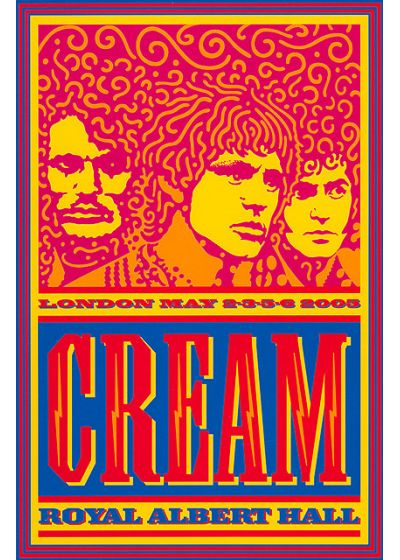 Cream - Royal Albert Hall - London May 2,3,5,6 - DVD