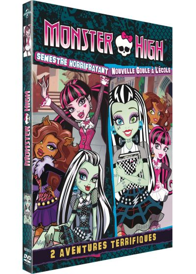 Monster High Fang-tastic : Semestre horrifrayant + Nouvelle Goule à l'école - DVD