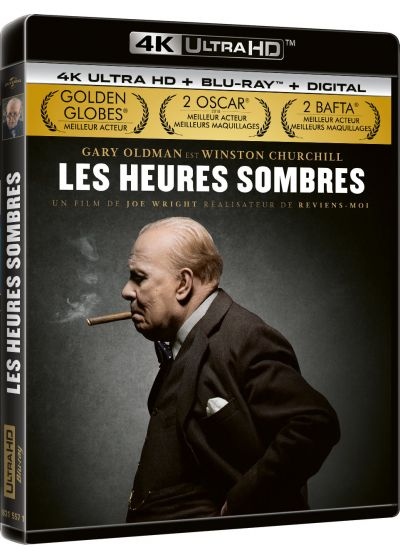 Les Heures sombres (4K Ultra HD + Digital HD) - Blu-ray 4K