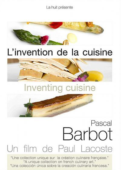 L'Invention de la cuisine : Pascal Barbot - DVD