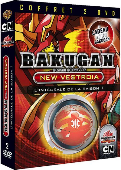 Bakugan Battle Brawlers : New Vestroia - Volume 1 + 2 (Édition Limitée) - DVD