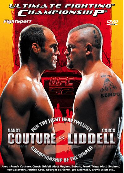 UFC 52 - Couture vs Liddell - DVD