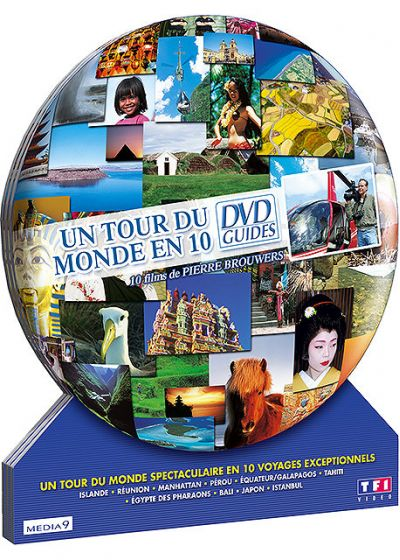 Un Tour du monde en 10 DVD Guides (Pack) - DVD