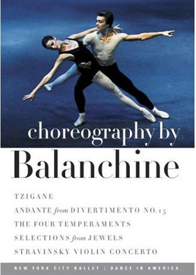 Choregraphy by Balanchine - DVD