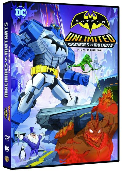 Batman Unlimited : Mech vs Mutants - DVD